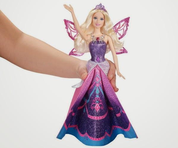 TOYS - BARBIE Mariposa y La Princesa de las Hadas - Muñeca Princesa Catania  Juguete Oficial | Mattel Y6373  Barbie Mariposa and The Fairy Princess Catania  A partir de 3 años