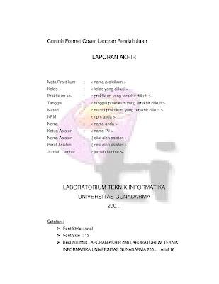 Prosedur Praktikum Lab TI Dasar Universitas Gunadarma