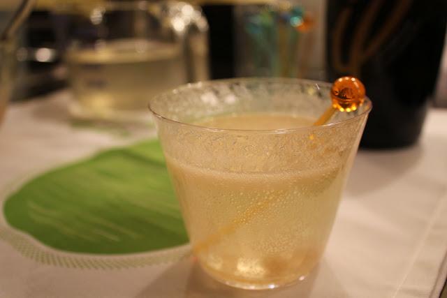 Pear-ginger sparklers