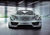 Porsche 918 Spyder Hybrid prototype front