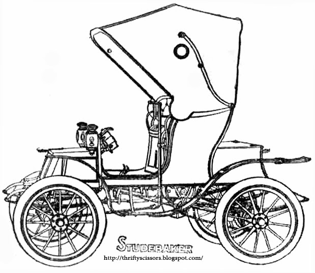 1950s Car Coloring Pages 7 Image