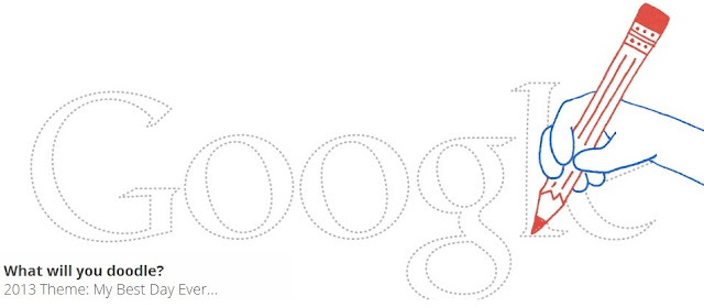 #Doodle 4 Google - 2013 My Best Day Ever
