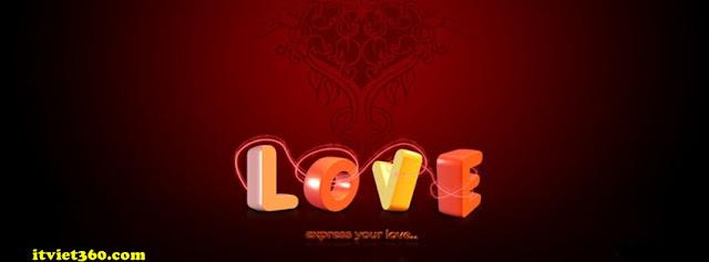 Ảnh bìa facebook 3D đẹp độc đáo - Cover FB timeline nice, love