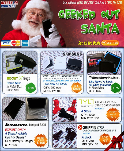 Daniel Kaufman Reagan Wireless Christmas Deals