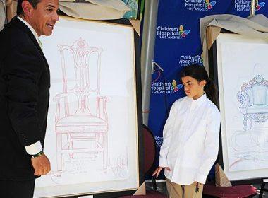 FILHOS DE MICHAEL JACKSON DOAM OBRAS DE ARTE CRIADAS PELO PAI A HOSPITAL INFANTIL Michael_desenhos