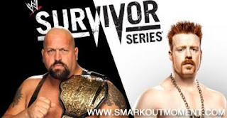 Watch WWE Survivor Series 2012 PPV Online World Heavyweight Championship Match Big Show vs Sheamus