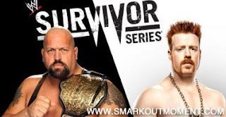 Watch WWE Survivor Series 2012 PPV Online World Heavyweight Championship Match Big Show vs Sheamus