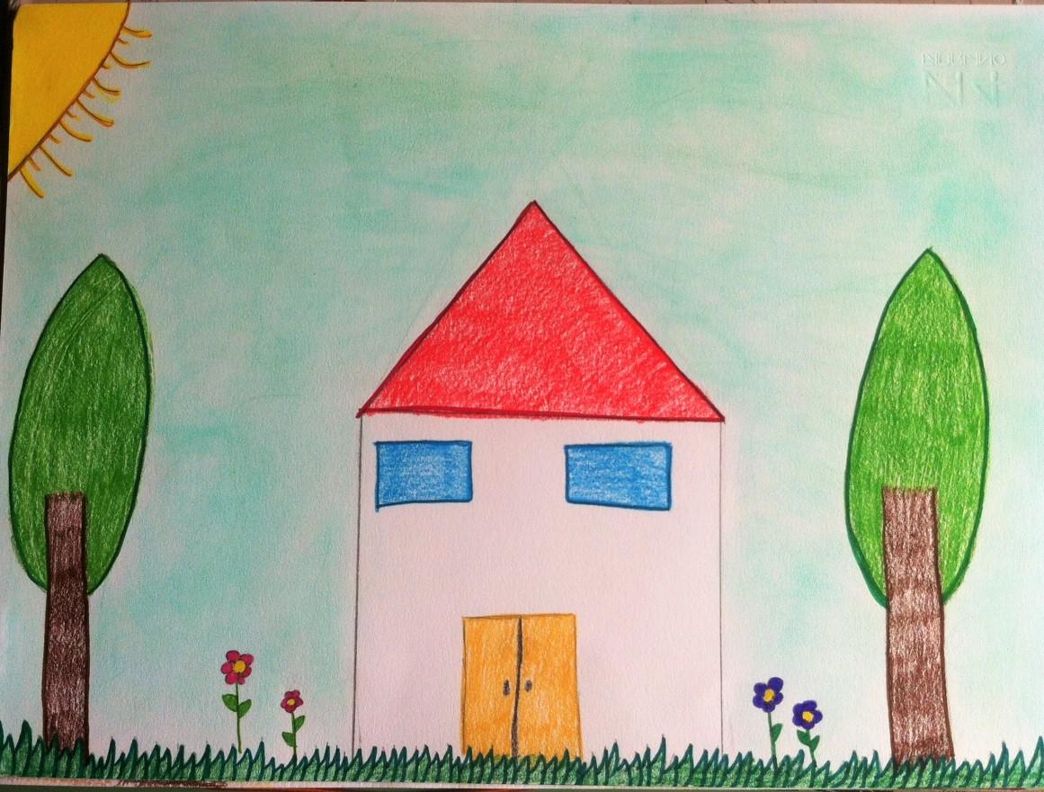 Arte con la prof creativita 39 e stereotipi for Disegno della casa sulla spiaggia