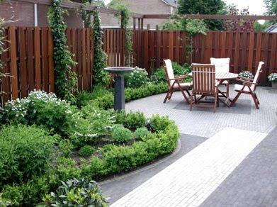 Tuinideeen en fotos voor tuinen tot m in almere lelystad huizen