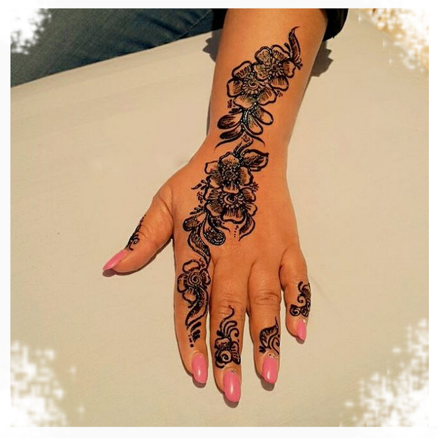 20 Amazing Henna Tattoo Designs And Meanings Temporary Tattoo