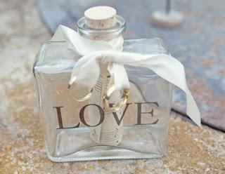 Porta alianças de casamento - diferente