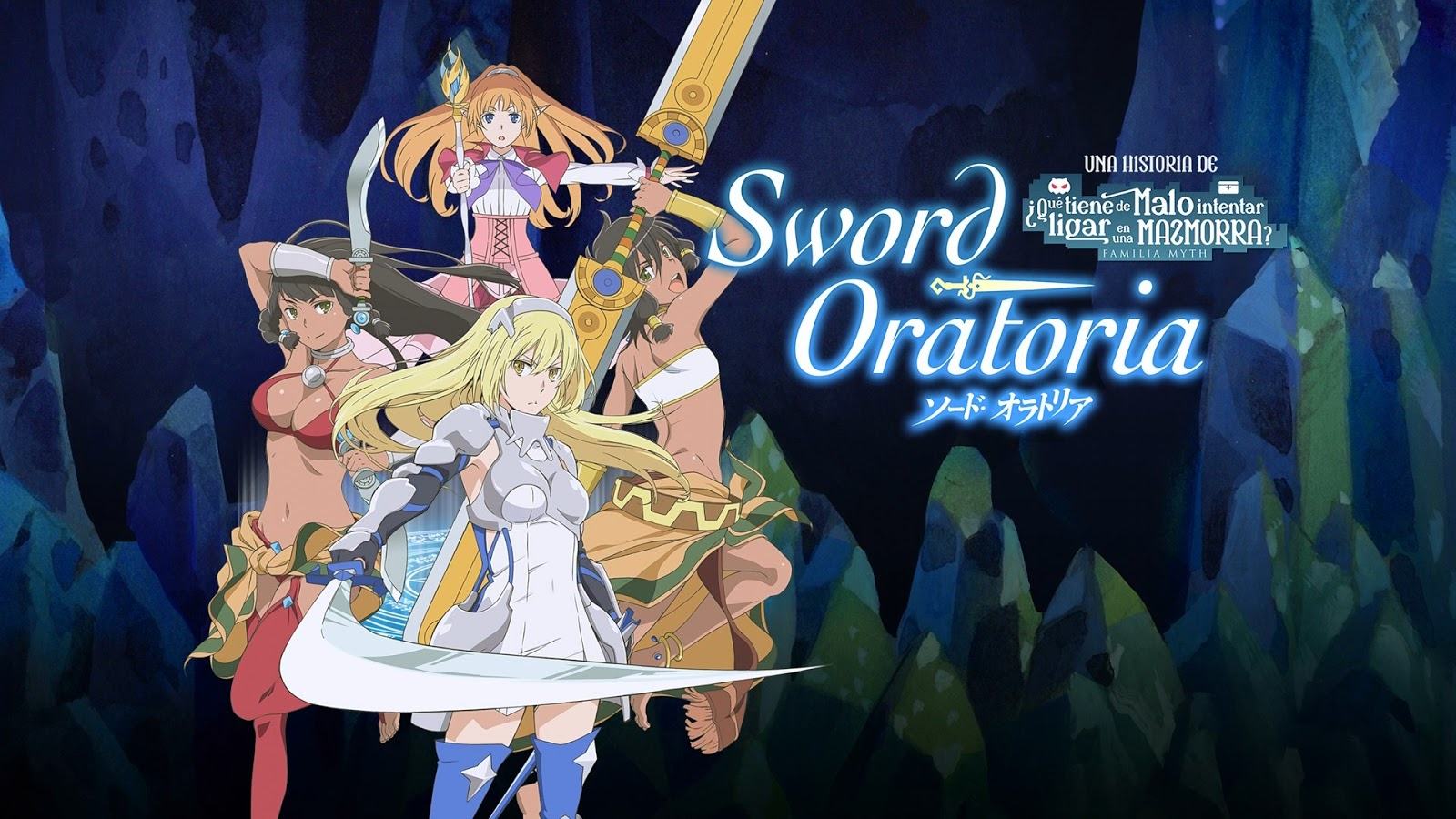 Sword Oratoria Capitulo 01/12 Castellano