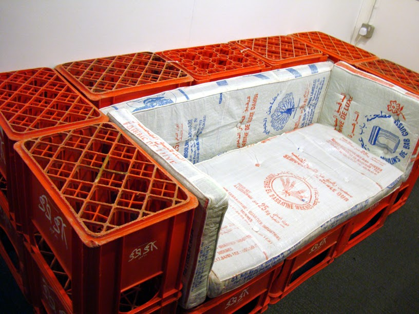 milk crate couch