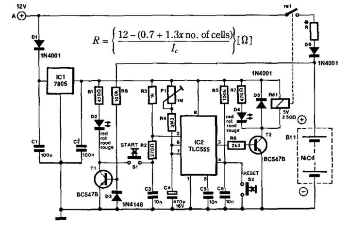 Charger Circuit Diagram:
