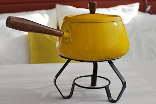 Muonamiehen mökki - fonduesetti