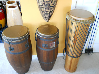 conga skins for percussionsts and players of congas and bongo