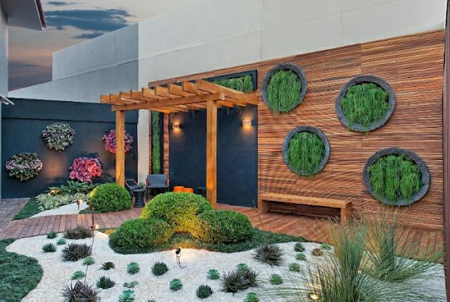 Deck para jardim e piscina – doitri.com