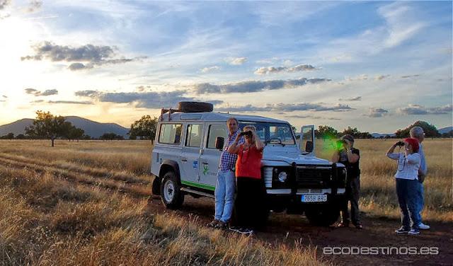 ruta todo terreno parque nacional cabaneros