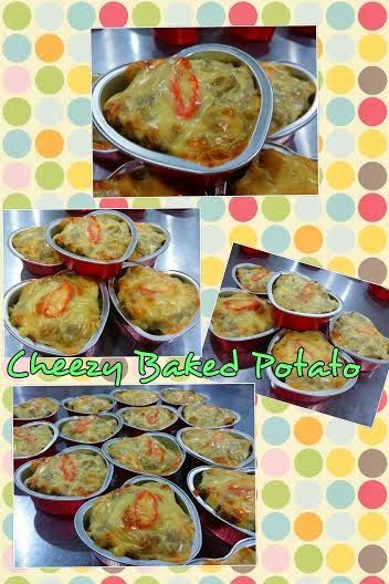 New Modul - Cheezy Baked Potato - kelas DIY RM200 perhead