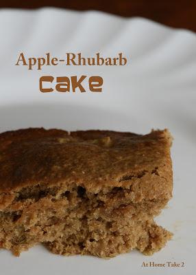 All She Cooks: Apple-Rhubarb Cake