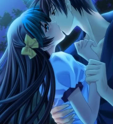 emo anime love