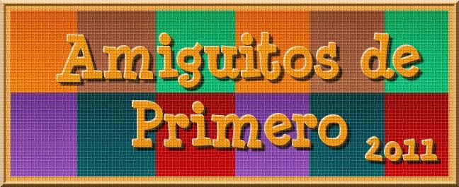 AMIGUITOS DE PRIMERO - 2011 -