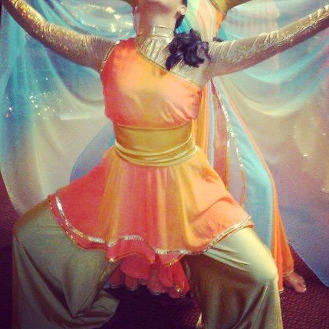 Roupa de Dança Evangelica - modelos simples