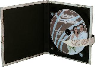 Estuche para CD/DVD tipo C abierto