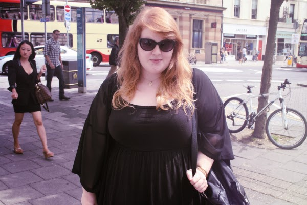 fashion and beauty blog, plus size fashion blog, plus size fashion, asos curve, newlook inspire, plus size summer fashion, all black, brighton street fashion