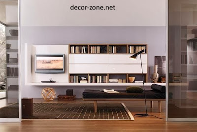 charming TV wall units, living room design ideas