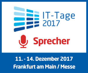 IT-Tage 2017 Kurator und Sprecher