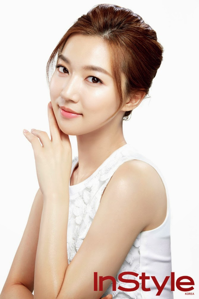 Ha Yun Joo - InStyle Magazine November Issue 2014