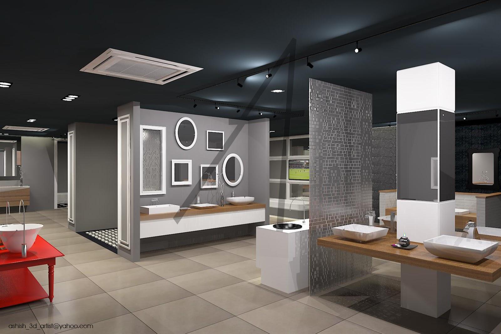 ANIMUS Modern Sanitary Ware Showroom