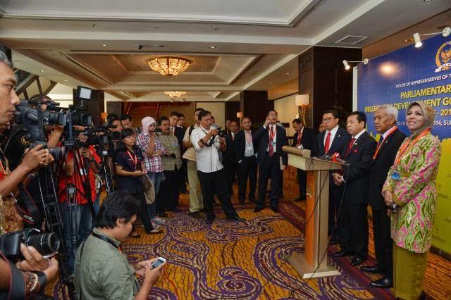 Parlemen Malaysia Apresiasi Peran DPR RI di MDGs