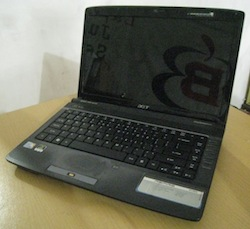 jual laptop 2nd acer aspire 4736g
