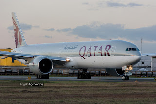 qatar airways clark