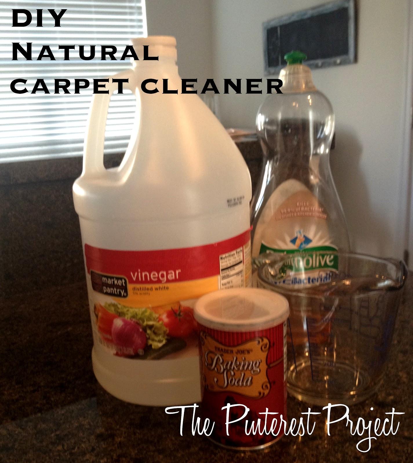 DIY Natural Carpet Cleaner