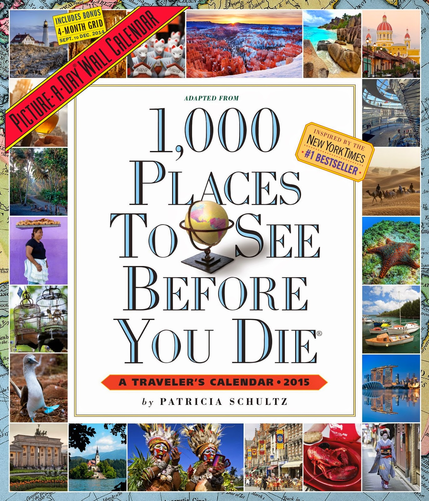 1 000 Places To See Before You Die 2015 Wall Calendar