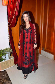 Riya Sen at Bappa Lahiri & Taneesha Verma Marriage Reception