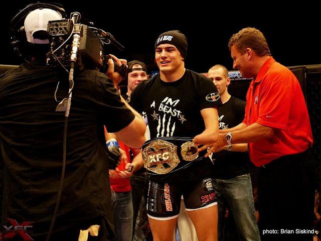 Nick Newell XFC Champion