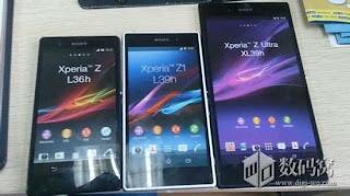 Sony Xperia Z1 mockup