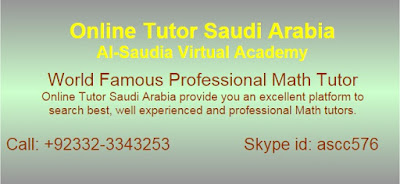Online Math Tutoring Saudi Arabia