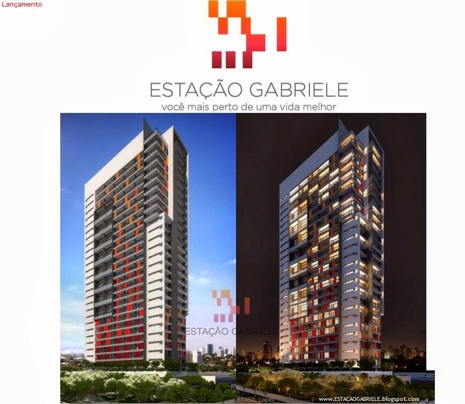 ESTAÇÃO GABRIELE - Apartamentos no Campo Belo: Studio 38m², 1 suíte 42m² e duplex 58 e 67m²