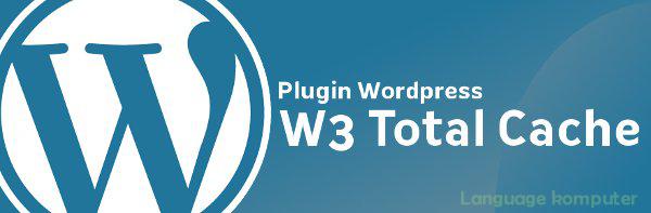 pengaturan plugin w3 total cache