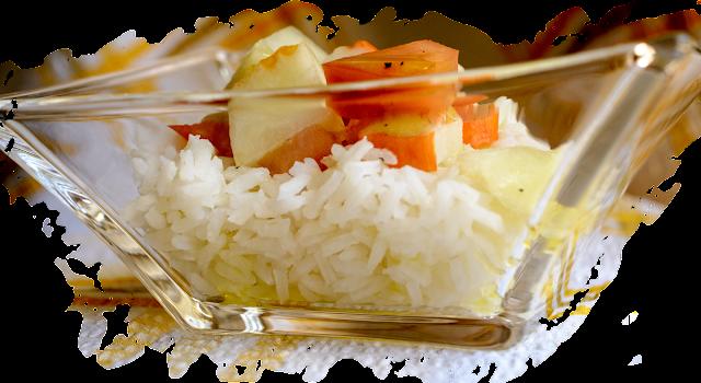 Ensalada de arroz; Rice salad