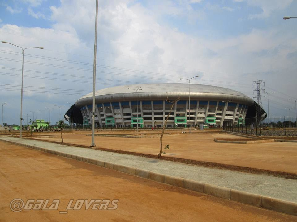 stadion gbla parkiran gerbang merah gerbang biru stadion gbla bandung