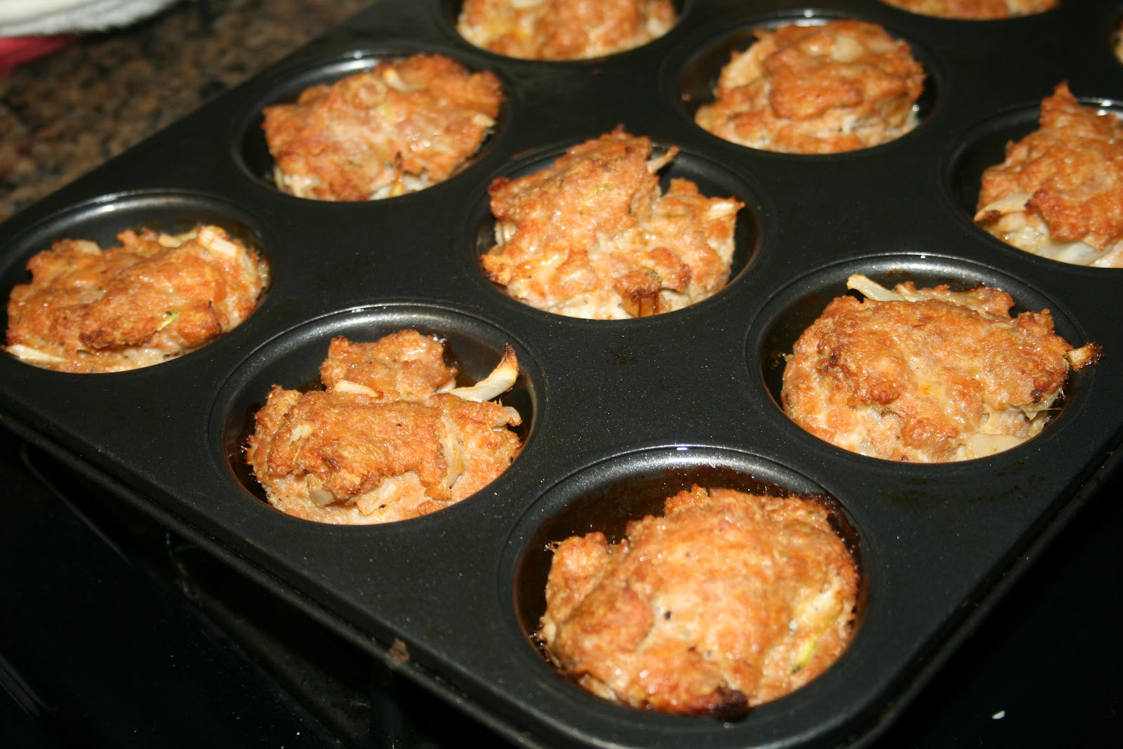 ... Homemade Cooking: Skinny Meatloaf Cupcakes With Mashed Potato Frosting