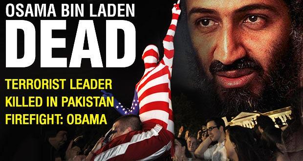 osama dead. Osama is Dead