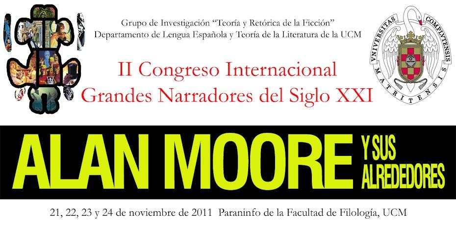 """Congreso  UCM """"Alan Moore y sus alrededores"""""""