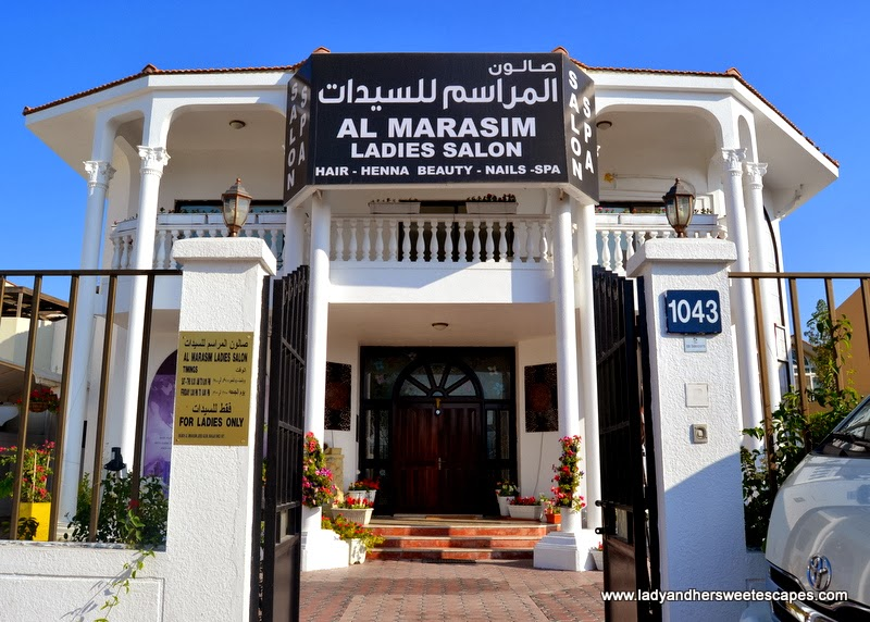 Al Marasim Ladies Salon Jumeirah